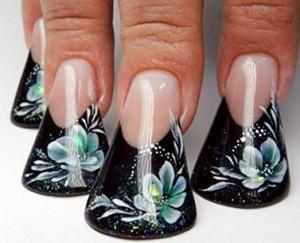 Hässliche Entenfüßchen-Nägel!
