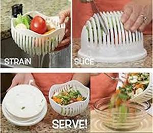 60-Sekunden-Salat-Schüssel!