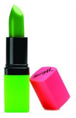 Grüner Lippenstift!