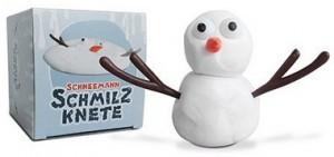 Schneemann Schmilzknete!